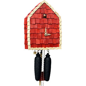 Novelties Cuckoo Clock 8-day-movement Modern-Art-Style 29cm by Rombach & Haas