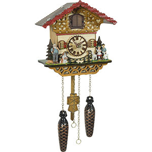 Chalet Cuckoo Clocks Cuckoo Clock Quartz-movement Chalet-Style 20cm by Trenkle Uhren