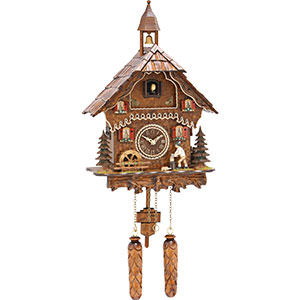 Chalet Cuckoo Clocks Cuckoo Clock Quartz-movement Chalet-Style 33cm by Trenkle Uhren