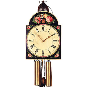 Shield Clocks - Black Forest Clocks Shieldclock 8-day-movement 33cm by Rombach & Haas