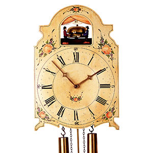 Shield Clocks - Black Forest Clocks Shieldclock 8-day-movement 38cm by Rombach & Haas