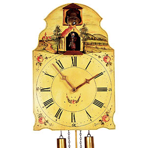 Shield Clocks - Black Forest Clocks Shieldclock 8-day-movement 40cm by Rombach & Haas