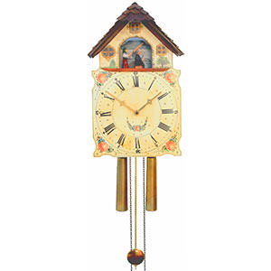Shield Clocks - Black Forest Clocks Shieldclock 8-day-movement 44cm by Rombach & Haas