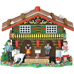 Black Forest Souvenir Clocks & Weather Houses Weather house 10cm by Trenkle Uhren
