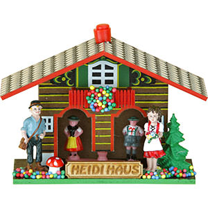 Black Forest Souvenir Clocks & Weather Houses Weather house 9cm by Trenkle Uhren