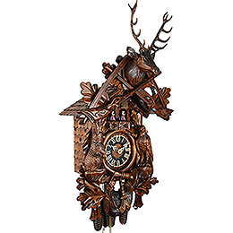 Cuckoo Clock 8-day-movement Carved-Style 72cm by Hönes