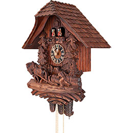 Cuckoo Clock 8-day-movement Chalet-Style 61cm by Hönes