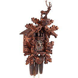 Cuckoo Clock 8-day-movement Carved-Style 41cm by Hönes