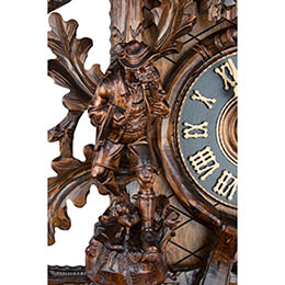 Cuckoo Clock 8-day-movement Carved-Style 95cm by Hönes