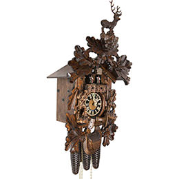 Cuckoo Clock 8-day-movement Carved-Style 62cm by Hönes