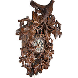 Cuckoo Clock 8-day-movement Carved-Style 68cm by Hönes