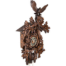 Cuckoo Clock 8-day-movement Carved-Style 71cm by Hönes