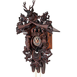 Cuckoo Clock 8-day-movement Carved-Style 64cm by Hönes
