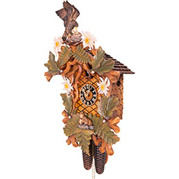 Cuckoo Clock 8-day-movement Carved-Style 54cm by Hönes