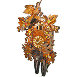 Cuckoo Clock 8-day-movement Carved-Style 39cm by August Schwer