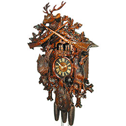 Cuckoo Clock 8-day-movement Carved-Style 67cm by August Schwer