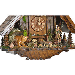 Cuckoo Clock 8-day-movement Chalet-Style 54cm by August Schwer