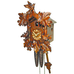 Cuckoo Clock 1-day-movement Carved-Style 23cm by August Schwer
