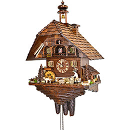 Cuckoo Clock 8-day-movement Chalet-Style 62cm by August Schwer
