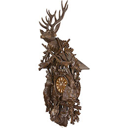 Cuckoo Clock 8-day-movement Carved-Style 140cm by Hubert Herr