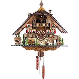Cuckoo Clock Quartz-movement Chalet-Style 50cm by Engstler