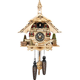 Cuckoo Clock Quartz-movement Chalet-Style 31cm by Engstler
