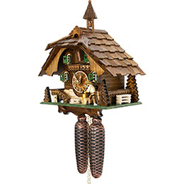 Cuckoo Clock 8-day-movement Chalet-Style 31cm by Engstler