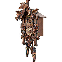 Cuckoo Clock Quartz-movement Carved-Style 35cm by Trenkle Uhren
