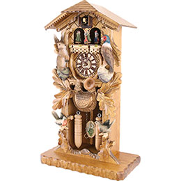 Cuckoo Clock Quartz-movement Carved-Style 53cm by Trenkle Uhren