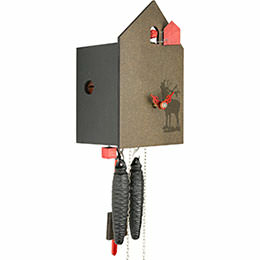 Cuckoo Clock 1-day-movement Modern-Art-Style 20cm by Rombach & Haas
