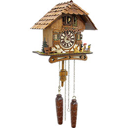 Cuckoo Clock Quartz-movement Chalet-Style 26cm by Cuckoo-Palace