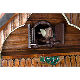 Cuckoo Clock Quartz-movement Chalet-Style 34cm by Cuckoo-Palace