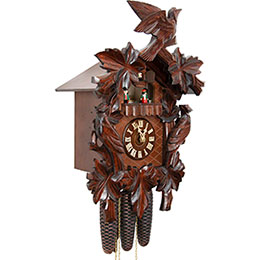 Cuckoo Clock 8-day-movement Carved-Style 50cm by Hekas