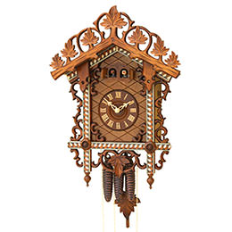 Antique replica clock 1-day-movement 48cm by Rombach & Haas