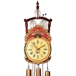 Antique replica clock 8-day-movement 50cm by Rombach & Haas