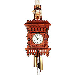 Antique replica clock 8-day-movement 60cm by Rombach & Haas