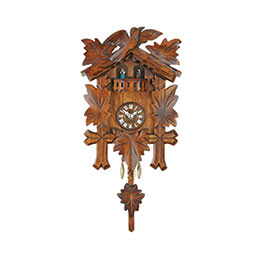 Black Forest Pendulum Clock Quartz-movement 25cm by Trenkle Uhren
