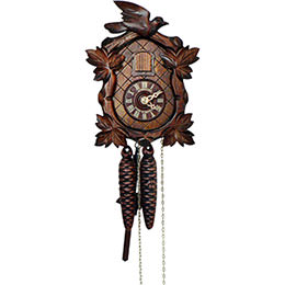 Cuckoo Clock 1-day-movement Carved-Style 20cm by Anton Schneider