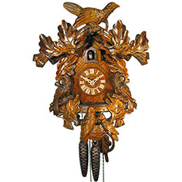 Cuckoo Clock 1-day-movement Carved-Style 32cm by August Schwer
