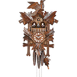 Cuckoo Clock 1-day-movement Carved-Style 36cm by Hekas