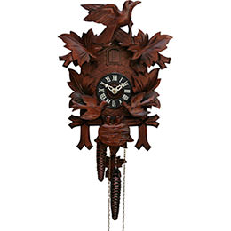 Cuckoo Clock 1-day-movement Carved-Style 38cm by Hekas