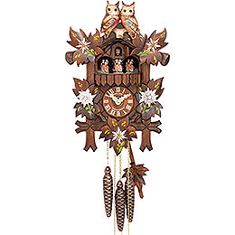 Cuckoo Clock 1-day-movement Carved-Style 39cm by Hubert Herr