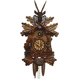 Cuckoo Clock 1-day-movement Carved-Style 40cm by Anton Schneider