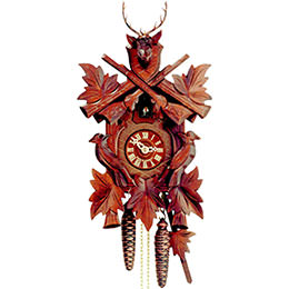 Cuckoo Clock 1-day-movement Carved-Style 50cm by Hekas