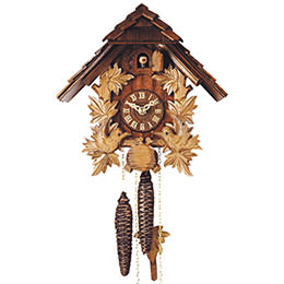 Cuckoo Clock 1-day-movement Chalet-Style 24cm by Rombach & Haas