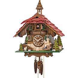 Cuckoo Clock 1-day-movement Chalet-Style 31cm by Engstler