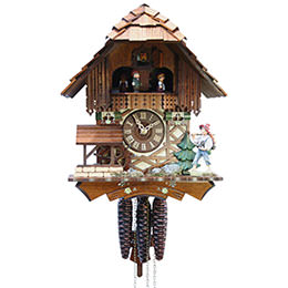 Cuckoo Clock 1-day-movement Chalet-Style 31cm by Rombach & Haas