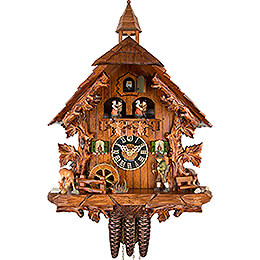 Cuckoo Clock 1-day-movement Chalet-Style 44cm by Hönes