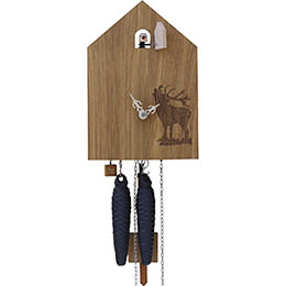 Cuckoo Clock 1-day-movement Modern-Art-Style 15cm by Rombach & Haas
