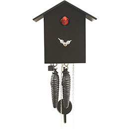 Cuckoo Clock 1-day-movement Modern-Art-Style 18cm by Rombach & Haas
